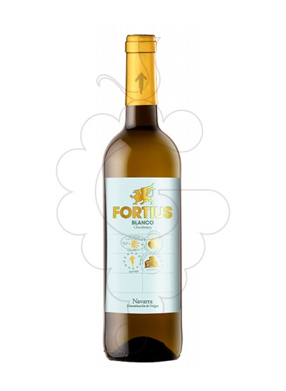 Photo Fortius Blanc Chardonnay white wine