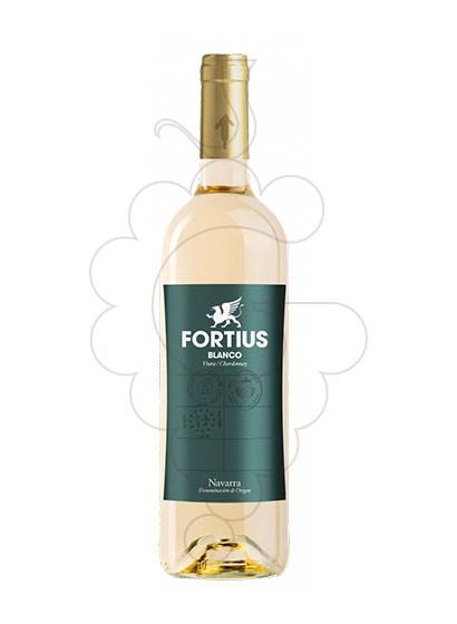 Photo Fortius Blanc white wine