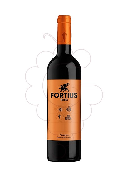 Photo Fortius Tempranillo red wine