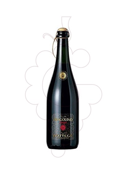 Photo Aperitif wine Fragolino Rosso Bottega