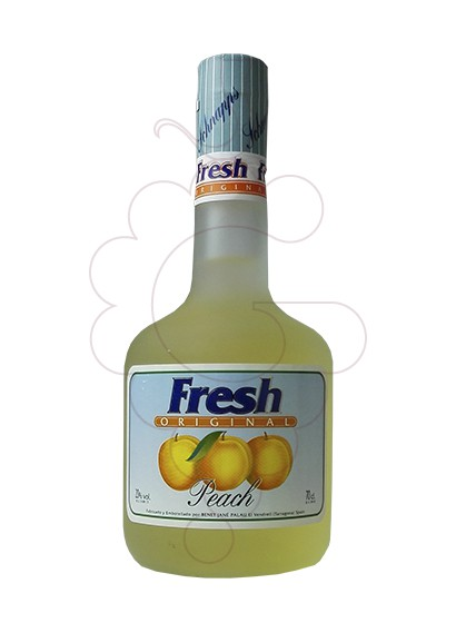 Photo Liqueur Fresh-Schnaps Peach