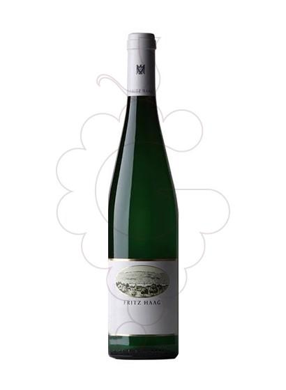 Photo Fritz Haag Brauneberger Juffer Sonnenuhr Auslese Tonel 10 white wine