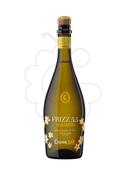 Photo Frizz Albariño white wine