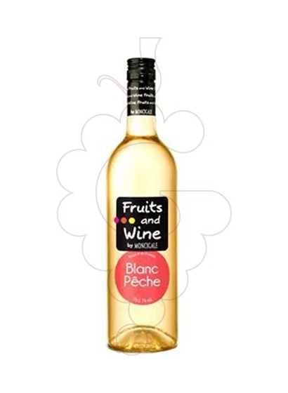 Photo Aperitif wine Fruits and Wine Blanc Peche
