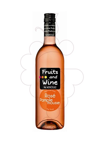 Photo Aperitif wine Fruits and Wine Rosé Pamplemouse Magnum
