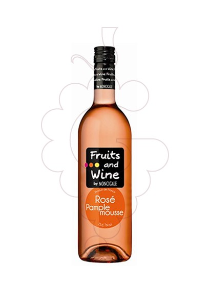 Photo Aperitif wine Fruits and Wine Rosé Pamplemouse