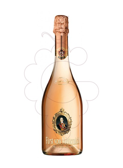 Photo Furst Von Metternich Rose Sekt sparkling wine