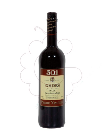 Photo Gades 501 Pedro Ximenez  fortified wine