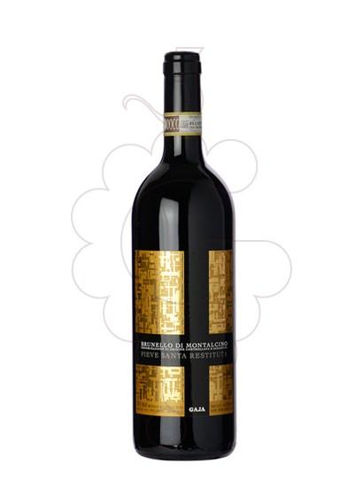 Photo Gaja Pieve Santa Restituta Brunello di Montalcino red wine