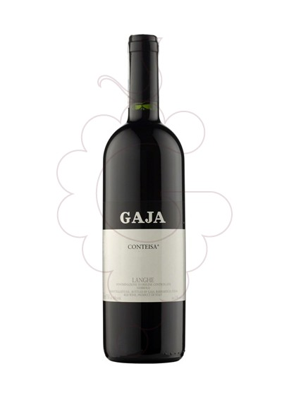 Photo Gaja Contesia red wine