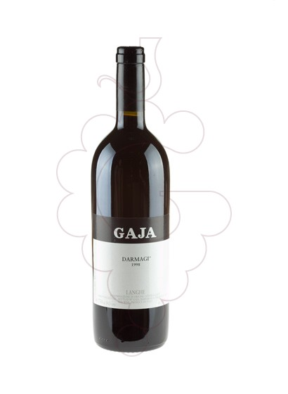 Photo Gaja Darmagi red wine