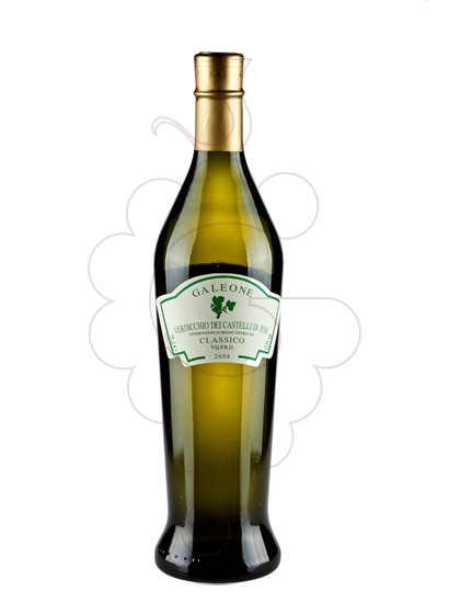 Photo Galeone Verdiccio Castelli Blanc white wine