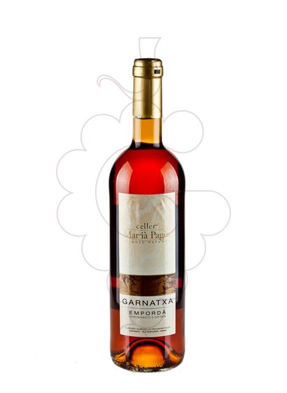Photo Garnatxa Maria Pages Jove fortified wine