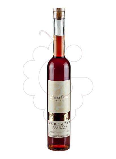 Photo Garnatxa Maria Pages Reserva fortified wine