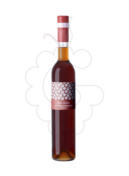 Photo Garnatxa Mas Llunes Solera  fortified wine