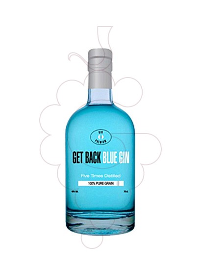 Photo Gin Get Back Blue