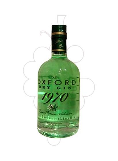 Photo Gin Oxford 1970