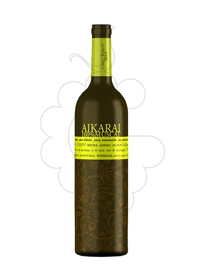 Photo Giro Ribot Aikarai Muscat white wine