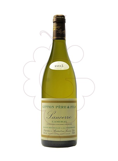 Photo Gitton L'amiral Sancerre white wine