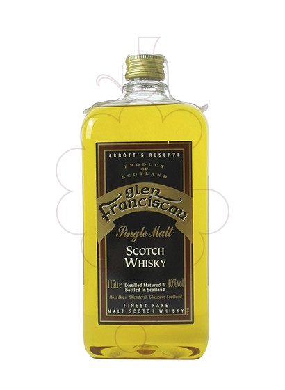 Photo Whisky Glen Franciscan 5 Years Plastic Flask