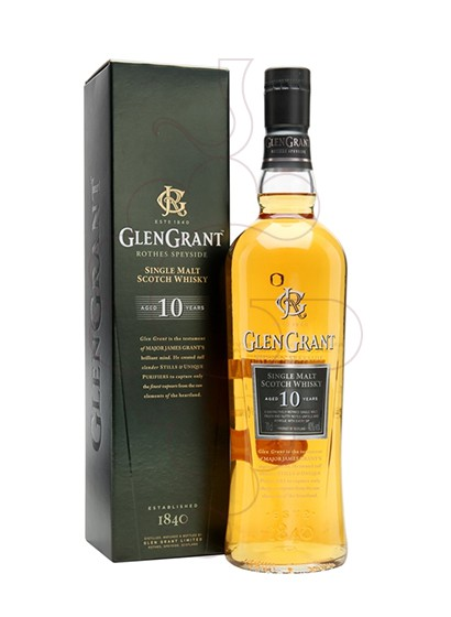 Photo Whisky Glen Grant 10 Years