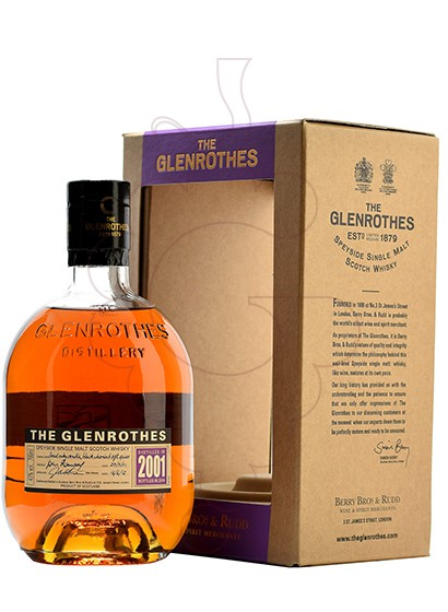 Photo Whisky Glen Rothes Vintage