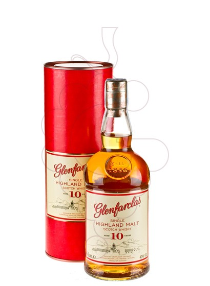 Photo Whisky Glenfarclas 10 Years