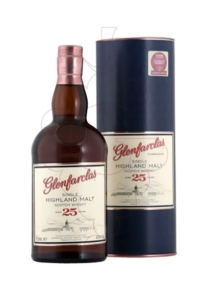 Photo Whisky Glenfarclas 25 Years