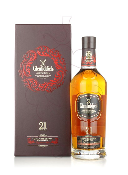 Photo Whisky Glenfiddich Rum Cask 21 Years