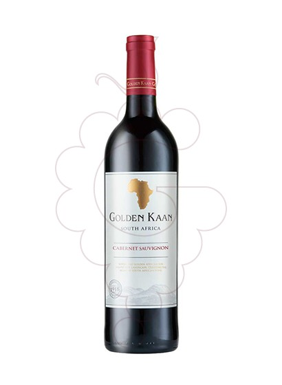 Photo Golden Kaan Cabernet (Sud Africa) red wine
