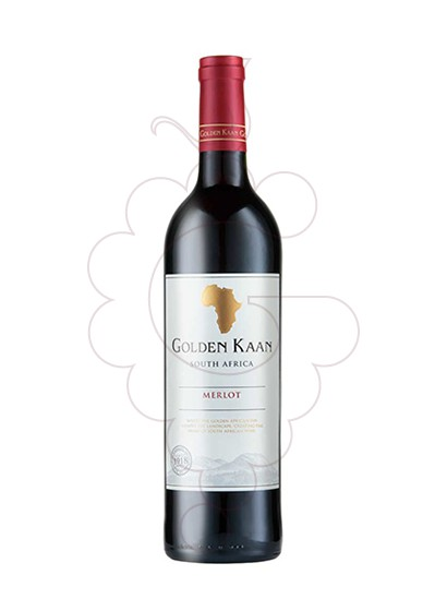 Photo Golden Kaan Merlot (Sud Africa) red wine