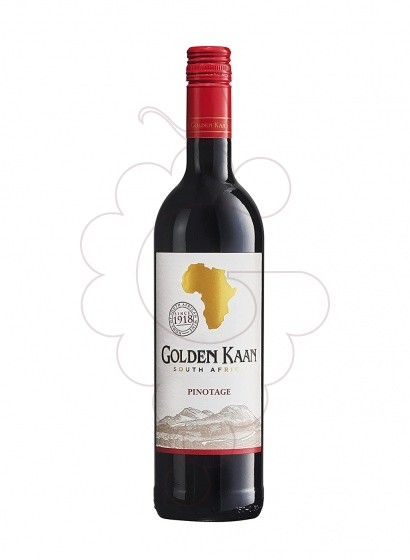 Photo Golden Kaan Pinotage (Sud Africa) red wine