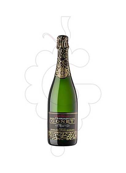 Photo Gonet Grand Cru Brut Cuvée Melendo sparkling wine