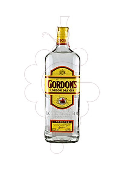 Photo Gin Gordon's non-refillable