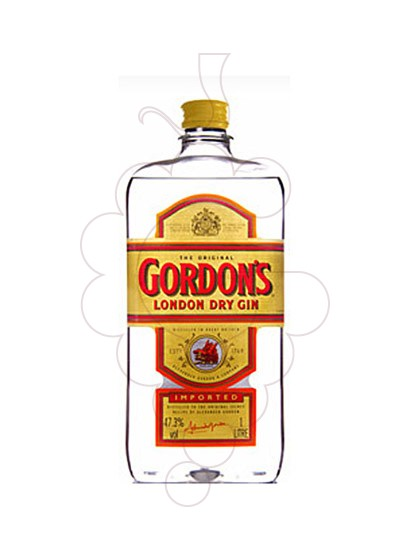 Photo Gin Gordon's Plastic Flask