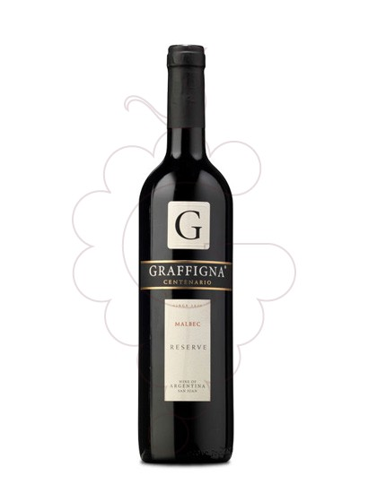 Photo Graffigna Malbec red wine