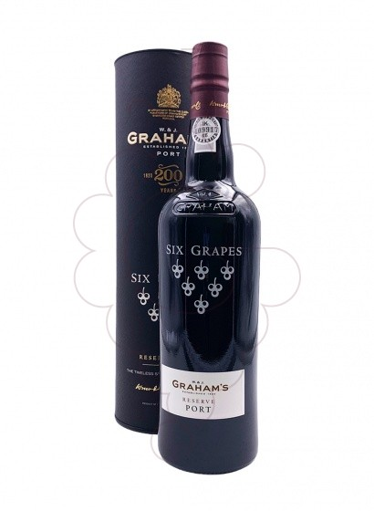 Photo Graham's Six Grapes fortified wine