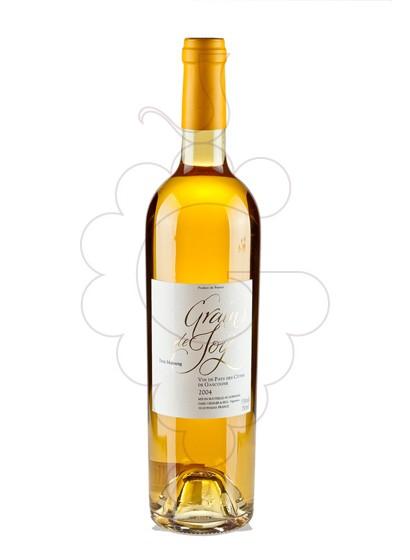 Photo Grains de Joy Petit Manseng white wine