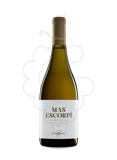 Photo Gramona Chardonnay Mas Escorpi white wine