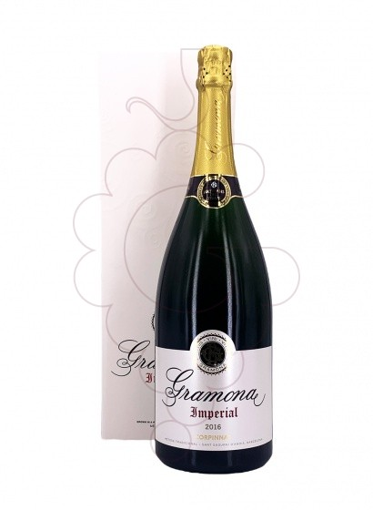 Photo Gramona Imperial Brut Magnum sparkling wine