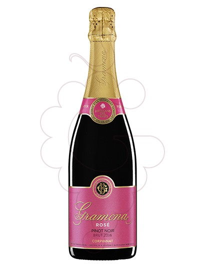 Photo Gramona Rose Brut sparkling wine