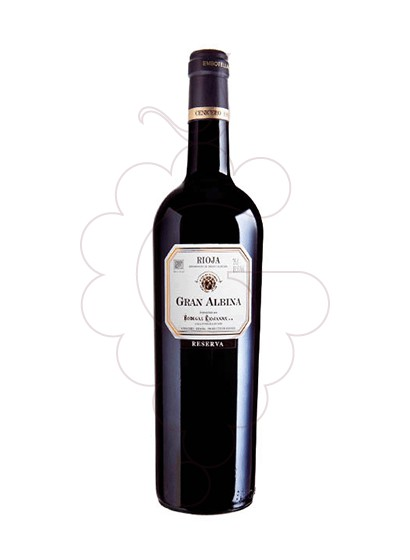 Photo Gran Albina Reserva red wine