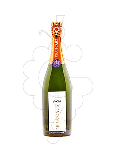 Photo Gran Caus Extra Brut sparkling wine