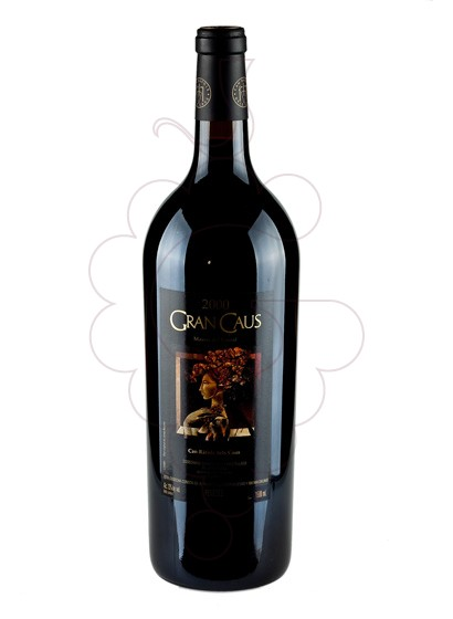 Photo Gran Caus Negre Magnum red wine