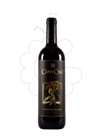 Photo Gran Caus Negre red wine