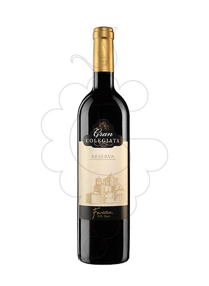 Photo Gran Colegiata Reserva red wine