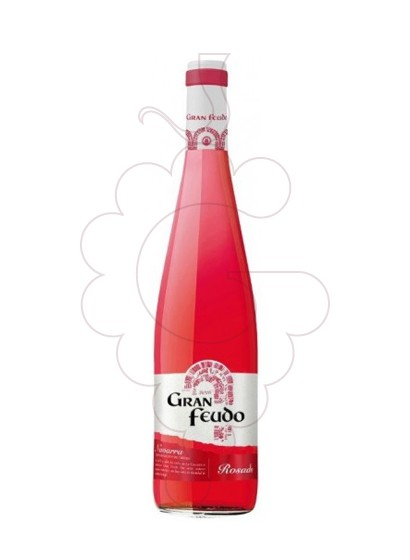 Photo Gran Feudo Rosat rosé wine