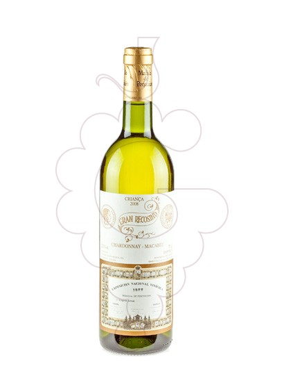 Photo Gran Recosind Blanc white wine
