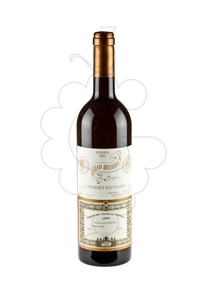 Photo Gran Recosind Cabernet-Merlot Reserva red wine