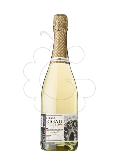 Photo Gran Rigau Brut de Bruts sparkling wine